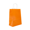 Lot de 50 sacs cabas kraft orange